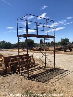 "Forklift Platform 40""x96""x140"""