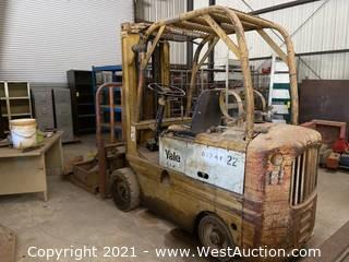 Yale 4,500lbs Capacity Forklift