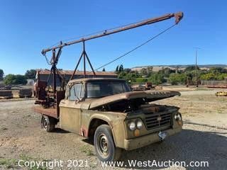 Dodge D200 Truck with Crane Boom