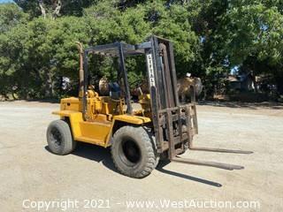 Liftall L-60 6,000lbs Capacity Diesel Forklift