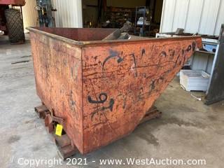 Forklift Dump Hopper