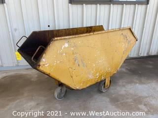 Rolling Dump Bin