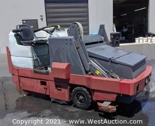 PowerBoss TSS/82 (Ride-On Scrubber Sweeper)