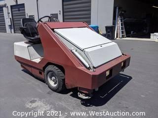 PowerBoss Armadillo SW/9XV (Ride-On Scrubber Sweeper)