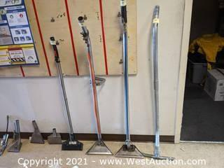 Carpet Cleaning, Hard Surface, Upholstery Cleaning Wand, and Head Attachments