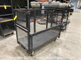 Steel Forklift Cart/Cage