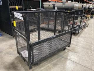 Steel Forklift Cage/Cart