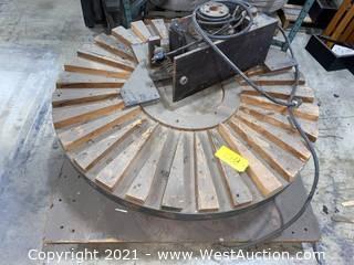 4' Diameter Turn Table & Boston RatioMotor