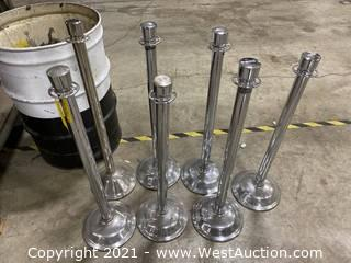(7) Stanchions