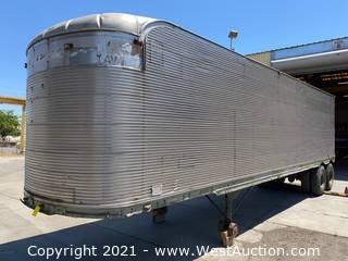 36' Fruehauf Enclosed Storage Trailer