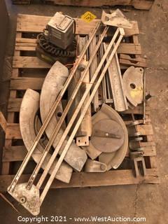 Greenlee Hydraulic Bending Set