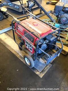 Honda EM6000GP Propane Gas Generator