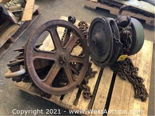 (2) Chain Hoist