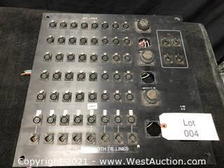(1) Audio Panel 40x8x2