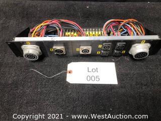 (1) Socapex Speaker NL4 NL8 Rack Mount Panel