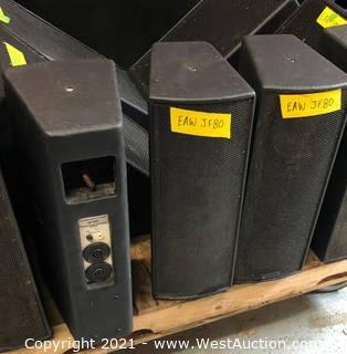 (3) EAW JF80 Speakers
