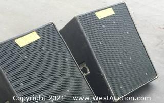 (2) EAW SM155 Speakers