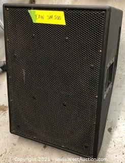 (1) EAW SM500 Speaker
