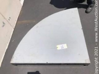 (1) BilJax Quarter Round 4ft Stage Platform