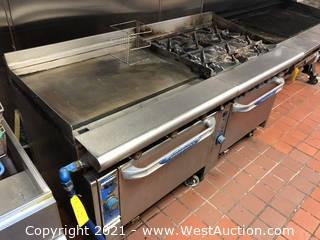 Imperial 6 Range Stove with Griddle and Ovens