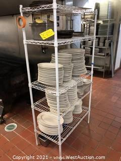 Rack with Plates