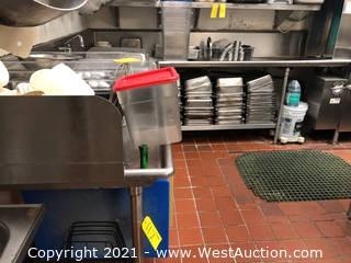Cutting Boards, Hotel Pans, Sauce Containers, Measuring Buckets, and More (Sink Not Included)