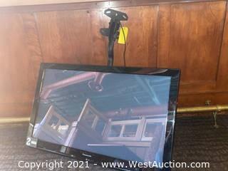 "Panasonic Plasma TC-P42X3 42"" Flatscreen TV & Hanging Mount"