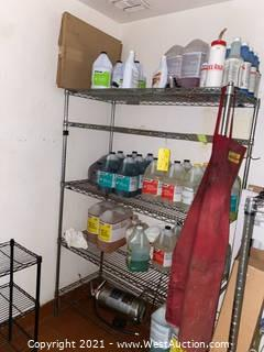 Metro Rack and Ecolab Chemicals