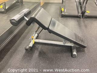 Matrix Free Weight Adjustable Decline Bench