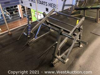 Hammer Strength Ground Base Squat/lunge Machine