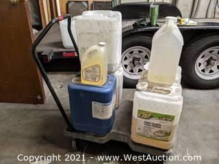 Variety of Maintenance/Janitorial & Floor Cleaner Items