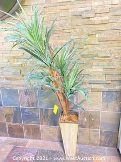 Faux Potted Plant