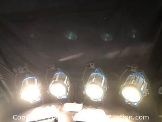 (4) TV Lights 650w