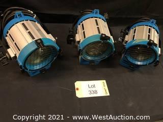 (3) TV Lights 650w