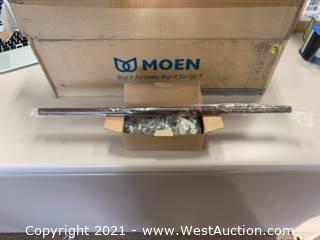 "(6) Moen YB5424ORB Oil Rubbed Bronze 24"" Towel Bars"