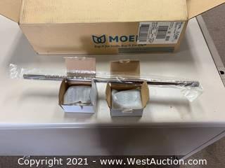 (5) Moen YB5624ORB Vestige 24 Inch Towel Bar Oil Rubbed Bronze
