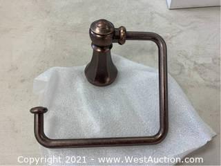 (3) Moen YB5686ORB Oil Rubbed Bronze Towel Rings