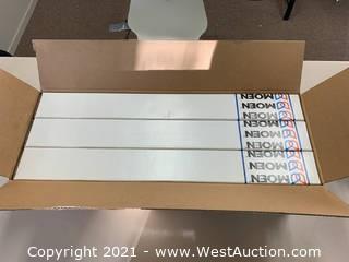 """(6) Moen YB2524BN 24"""" Towel Bars - Brushed Nickel"""
