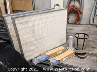 Sweeper Scrubber Tractor Filters