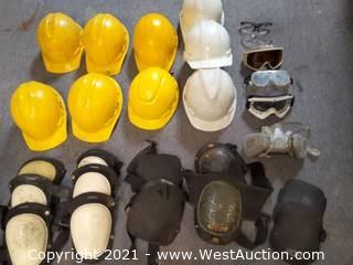 Overalls, Rainsuits, Safety Vests, Hard Hats, Jackets, Goggles