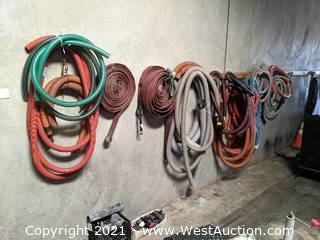Hoses, Heavy Duty Vacuum Hoses, Tractor Hoses, Fittings, and Attachments