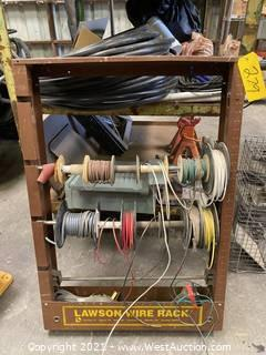 Lawson Wire Rack With Contents