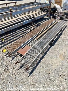 (3) Steel Ramps
