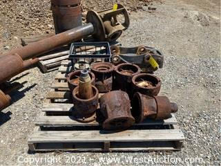 Assorted Pump Parts And Cat Attachment