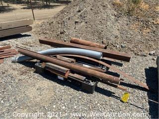 """Assorted Scrap Steel; 1' To 87"""""""
