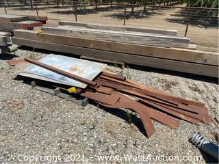Assorted Scrap Steal 4' To 12'