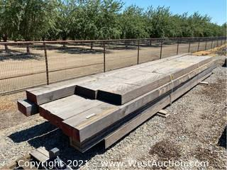 """(13+) Wooden Beams; 193"""" to 242"""""""