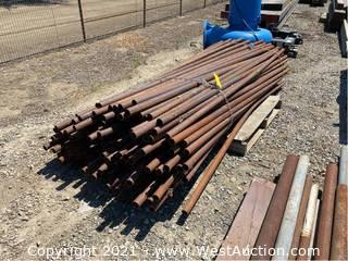 """Pallet Of 8' x 1-1/2"""" Pipes"""