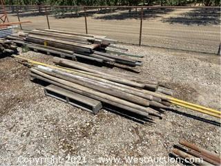 """Assorted Wooden Posts 93"""""""