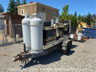 Trailer Mounted Kohler Generator